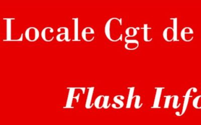 Flash info N°1