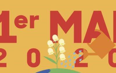 1er mai 2020… confinés mais pas muselés