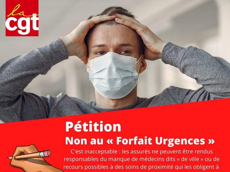 NON au 'Forfait Urgences'