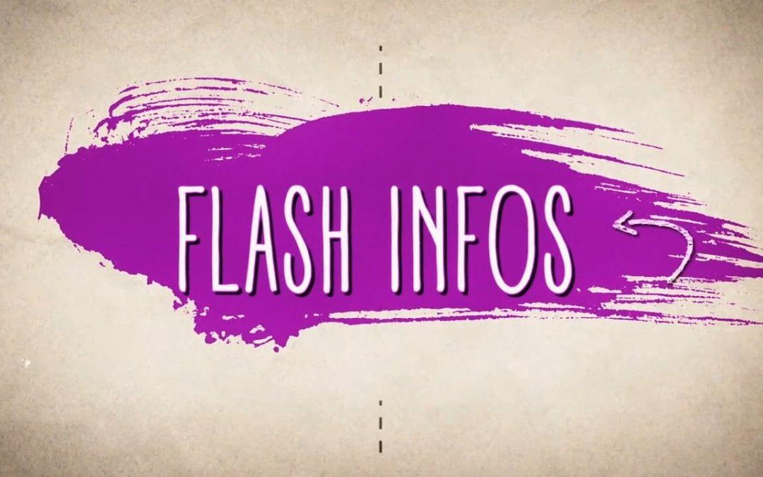 Flash info N°6 : spécial 8 mars